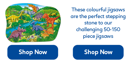 A collection of beautifully illustrated children's floor jigsaws from 25 up to 50 pieces.