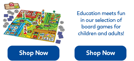 Fun and simple family board games for children from just 3 years old.