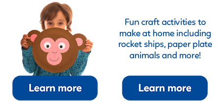 Some great free kids craft ideas to help you get creative with your children!