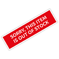 Sorry, some items are out of stock