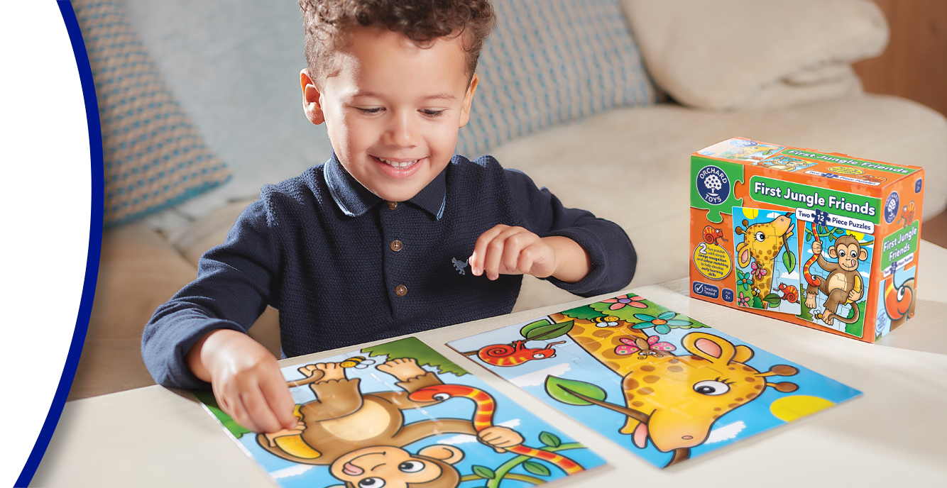 Jigsaw Puzzles for 1-2 Year Olds