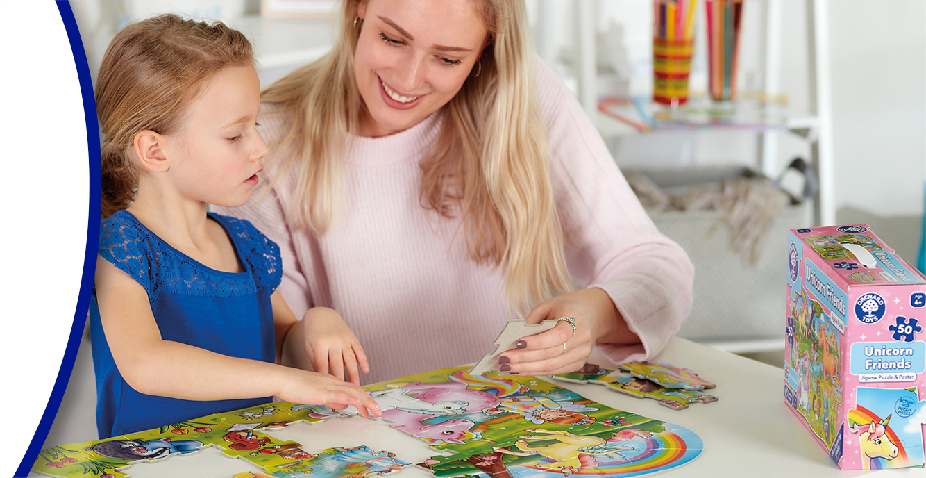 Jigsaw Puzzles for 2-5 Year Olds