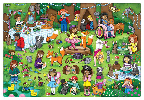 Orchard Toys Jigsaw Puzzle - Woodland Party