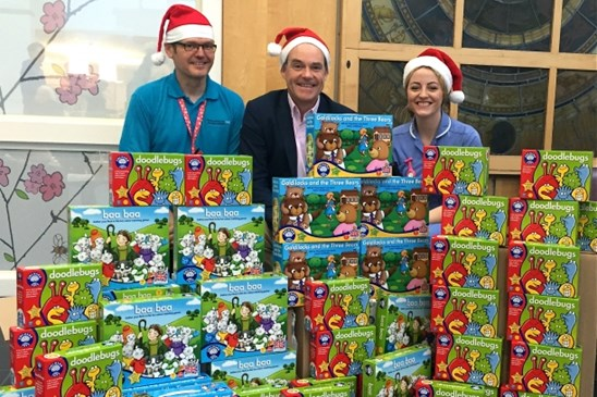 Orchard Toys N & N Hospital Toy Donation 2015