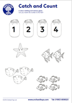 Catch and Count Activity Sheet