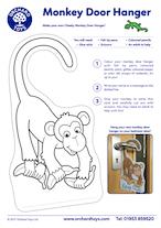 Cheeky Monkeys Doorhanger