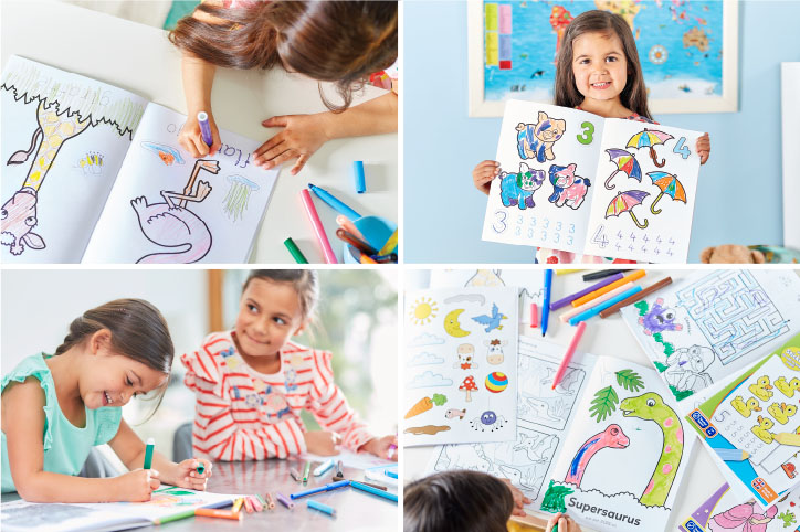 The Benefits of Colouring Books