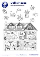 Dolls House Activity Sheet