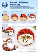 Father Christmas Pancake
