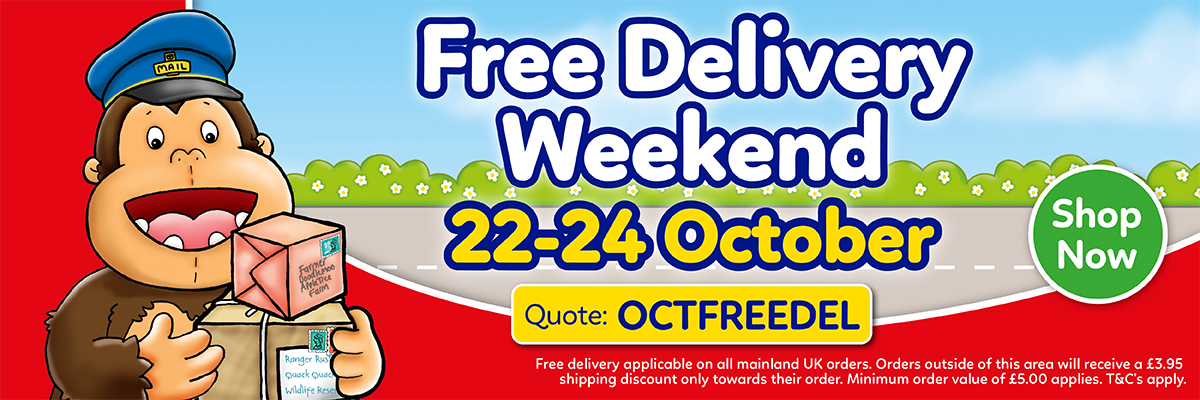 Free Delivery Weekend - October