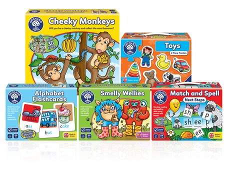 Orchard Toys Games and Jigsaws January 2017