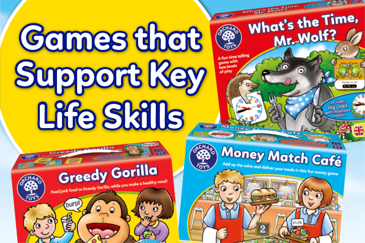 Games that Support Key Life Skills