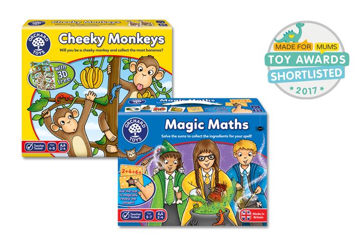 Orchard Toys awards shortlist
