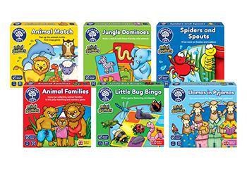 Orchard Toys Mini Travel Games 2017