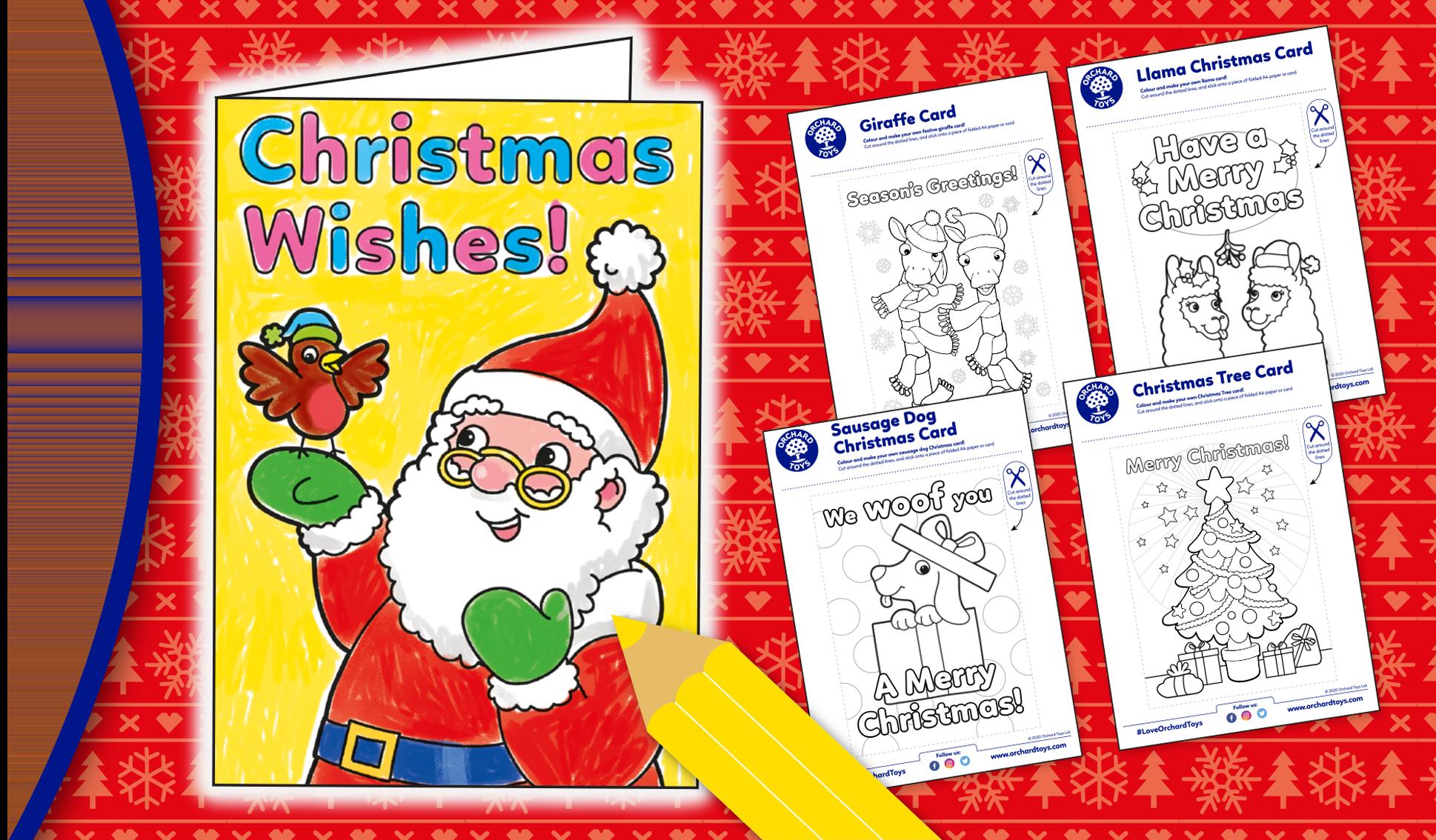 MYO Christmas Cards