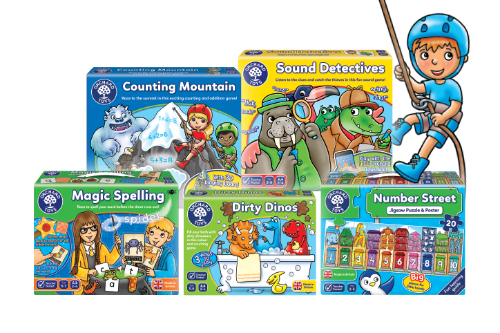 Orchard Toys New Lines 2019