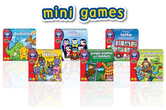 Orchard Toys Mini Games Launch April 2016