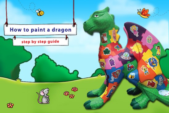 Orchard Toys How to Paint a Dragon