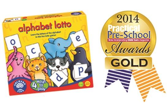 Orchard Toys Practical Preschool Gold Award