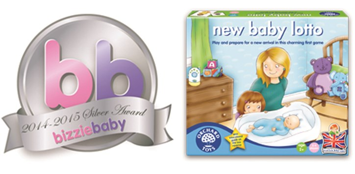 Orchard Toys New Baby Lotto Award Silver
