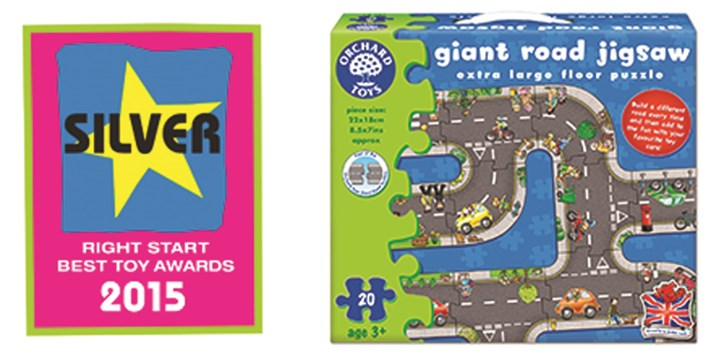 Right Start Awards Win 2015 Orchard Toys
