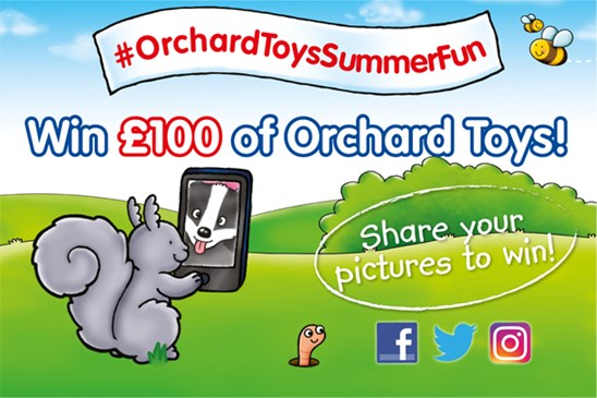 Summer Competition - Win £100 of Orchard Toys!