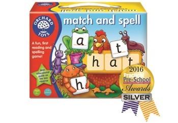 Match and Spell Silver Award Practical Preschool