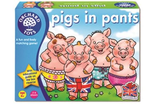 Orchard Toys Pigs in Pants Mummii Award