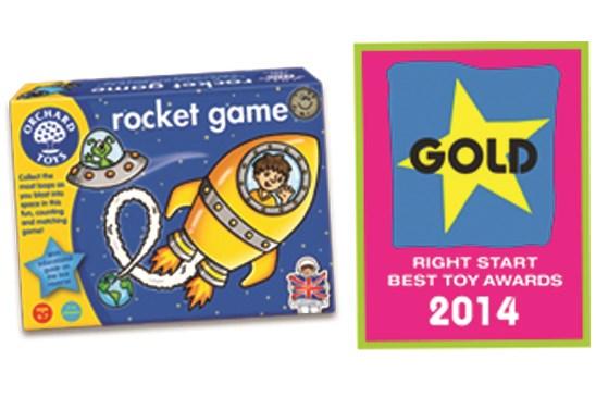 Orchard Toys Right Start Award Gold 2014