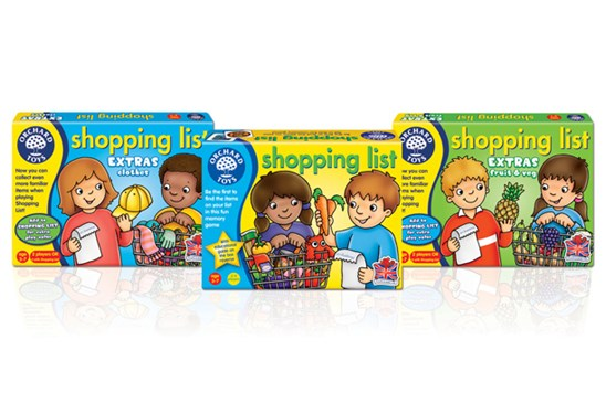 Orchard Toys Shopping List Relaunch 2015