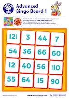 Advanced Bingo Board