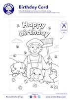 Farm Birthday Card