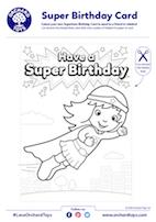 Super Birthday Card 2