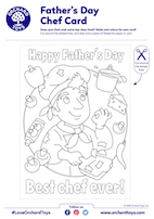 Father's Day Chef Card