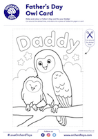 Father's Day Owl Card