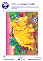 Triceratops Jigsaw Puzzle