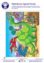 Diplodocus Jigsaw Puzzles
