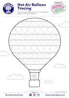 HLM Hot Air Balloon Tracing