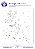 Rudolph Dot to Dot