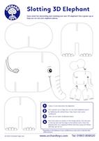 Slotting 3D Elephant