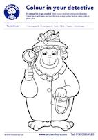 Sound Detectives - Orangutan Colouring Sheet