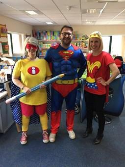 EACH Superhero Fundraising Day