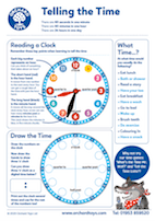 Tell the Time Activity Sheet
