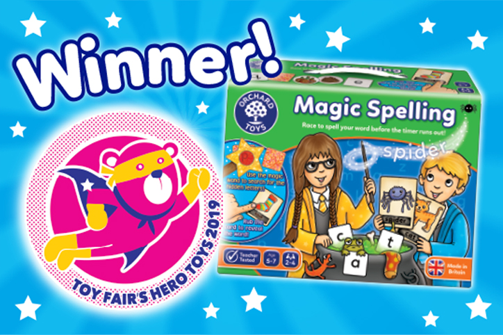 Magic Spelling Toy Fair Award Win