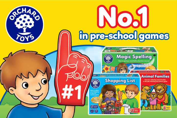 Number one in preschool games