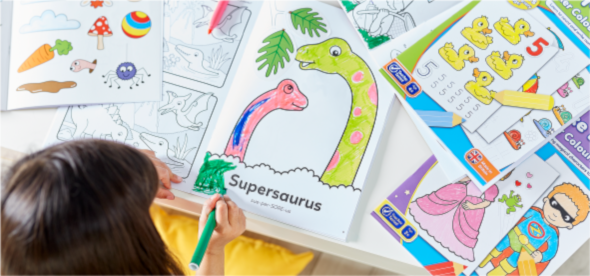 View all our Colouring Books