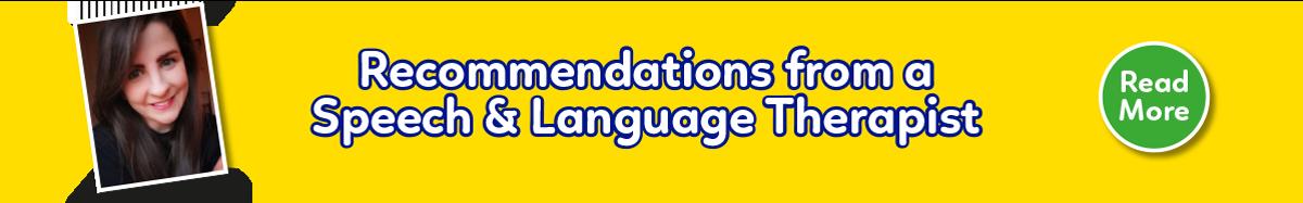 Speech and Language Therapist Blog Post