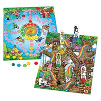 Fairy Snakes & Ladders and Ludo Board Game