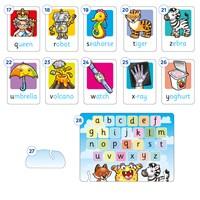 Alphabet Flashcards Misplaced Pieces