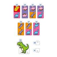 Dinosaur Dominoes Mini Game Misplaced Pieces